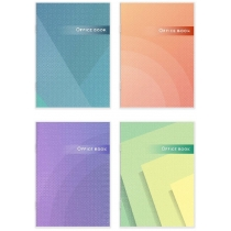 Книга  канцелярська 96 аркушів, клітинка, газ, А4, скоба.