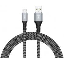 Кабель T-PHOX Jagger T-M814 Micro USB - 1m (Сірий)