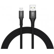 Кабель T-PHOX Jagger T-M814 Micro USB - 1m (Чорний)