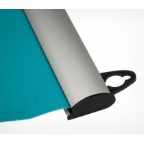 Комплект алюмінієвих профілів для підвішування плакатів, POSTERSNAPPER. Ш проф 25 мм. Розмір 600 мм.