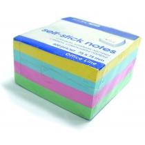 Стікери Economix, 75х75, 4 кольори, 400 арк.