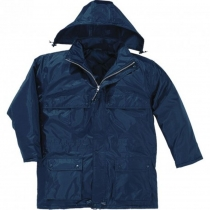 Куртка утеплена DARWIN, темно-синя L