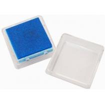 Штемпельна подушка з пігментним чорнилом, Темно-синя, 2,5*2,5см