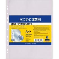 """Файл для документів А4+ Economix, 30 мкм, фактура """"глянець"""" (100 шт/уп)"""