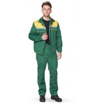 Костюм «Легіонер» куртка+штани зелений+жовтий, р. M (48-50), зріст 170-176 см
