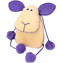 Набір, створи іграшку з фетру, овечка Флаффі