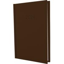 Щоденник датований, SATIN, коричневий, А5
