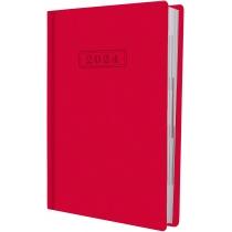 Щоденник датований, SQUARE, червоний, А5