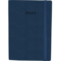 Щоденник датований, NAMIB, темно-синій,  А5, з гумкою без поролона