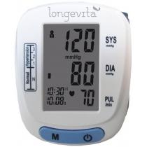 Тонометр, автоматичний вимірювач тиску Longevita BP-201M (манжета на зап'ястя)