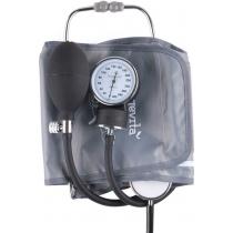 Тонометр, механічний вимірювач тиску Longevita LS-5 (стетоскоп у комплекті вбудований у манжету)_x00
