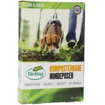 БіоПакет Dog, 50 шт в ролоні, 20х32 см