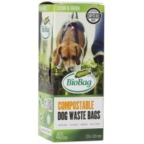 БіоПакет Dog, 40 шт в рулоні, 22х32 см