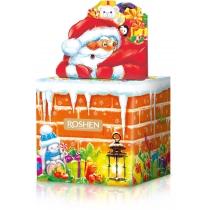 Новорічний подарунок Димохід і Санта ВКФ 280г, Roshen №3