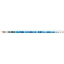 Олівець чорнографітний Optima MATHS HB корпус табл. множення, загострений, з гумкою