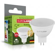 Лампа ЕКО EUROLAMP LED серія  MR16 5W GU5.3 4000K 12V (50)