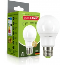 Лампа ЕКО EUROLAMP LED серія  А60 10W E27 4000K