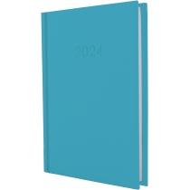 Щоденник датований, SATIN, синій, А5
