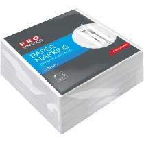 Серветки PROservice Comfort одношарові білі 33 х 33 см 100 шт