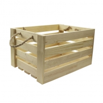 Ящик квадратний, 30х30х21см, сосна, ROSA TALENT
