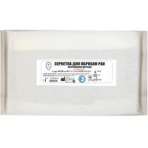 Серветки для обр. ран стерильні (протиопікова пов'язка), 40х60см, №2, н/м