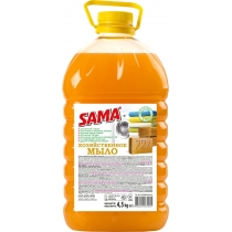 Мило рідке господарське САМА 4,5 кг