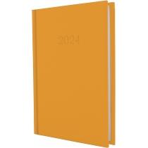 Щоденник датований, SATIN, помаранчовий, А5