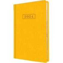 Щоденник датований, SQUARE, жовтий, А5,