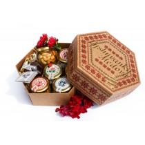 Подарунковий набір медовий Vyshyvanka Медова, 840 гр.