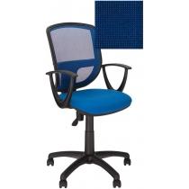 Крісло BETTA GTP P OH / 5 C-14, Тканина CAGLIARI, синій, Пласт База
