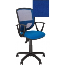 Крісло BETTA GTP P OH / 5 C-6, Тканина CAGLIARI, синій, Пласт База