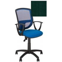 Крісло BETTA GTP P OH / 5 C-32, Тканина CAGLIARI, зелений, Пласт База