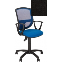 Крісло BETTA GTP OH / 5 C-11, Тканина CAGLIARI, чорний, Пласт База