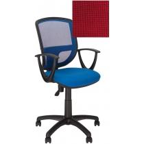 Крісло BETTA GTP OH / 5 C-16, Тканина CAGLIARI, червоний, Пласт База