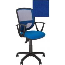 Крісло BETTA GTP OH / 5 C-6, Тканина CAGLIARI, синій, Пласт База
