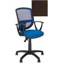 Крісло BETTA GTP OH / 5 C-24, Тканина CAGLIARI, коричневий, Пласт База