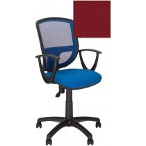 Крісло BETTA GTP OH / 5 C-2, Тканина CAGLIARI, червоний, Пласт База