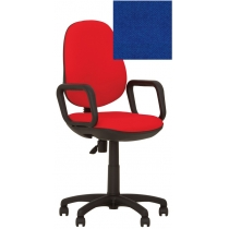 Крісло COMFORT GTP (FREESTYLE) P C-6, Тканина CAGLIARI, синій, Пласт База
