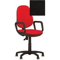 Крісло COMFORT GTP (FREESTYLE) P C-11, Тканина CAGLIARI, чорний, Пласт База