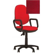 Крісло COMFORT GTP (FREESTYLE) P C-16, Тканина CAGLIARI, червоний, Пласт База