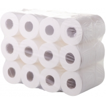 Рушники паперові в рулоні 2 шари гладкі Eco Point Soft 60 м, 12 рулонів