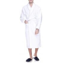 Халат махровий  XL, щільність (400) колір білий, 16/1 Білий