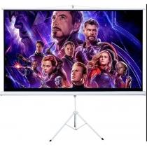 Екран проекційний (4x3) 2х1,5 м на тринозі, Charmount