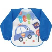 Фартух для дитячої творчості синій, 35 x 40 см