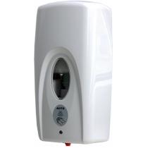 Дозатор безконтактний під розчин 500мл, пластиковий білий