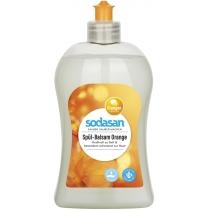 Органічний бальзам-концентрат SODASAN Апельсин для миття посуду, 0,5 л