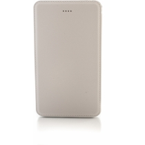 Мобільна батарея (Power Bank) Optima 4104, 4 000 mAh, 5V 1.0A, колір білий