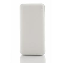 Мобільна батарея (Power Bank) Optima 4107, 20 000 mAh, 2*USB output, 5V 2.1A, колір білий