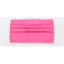 Маска захисна шита, 3-х шарова колір рожевий