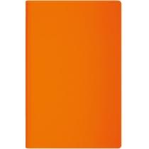Діловий записник, VIVELLA neon, А5; блок - білий, нелінований, тверда обкладинка, помаранчевий